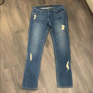 James Jeans Distressed jean